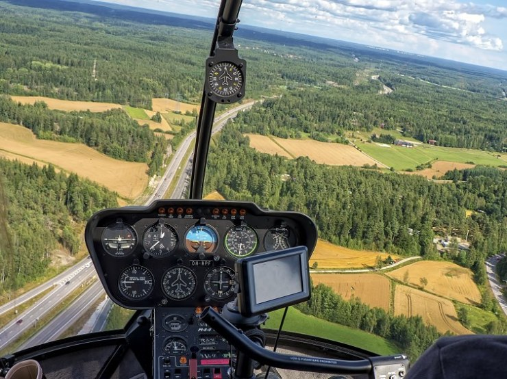 Helicopter in Finland, CC0